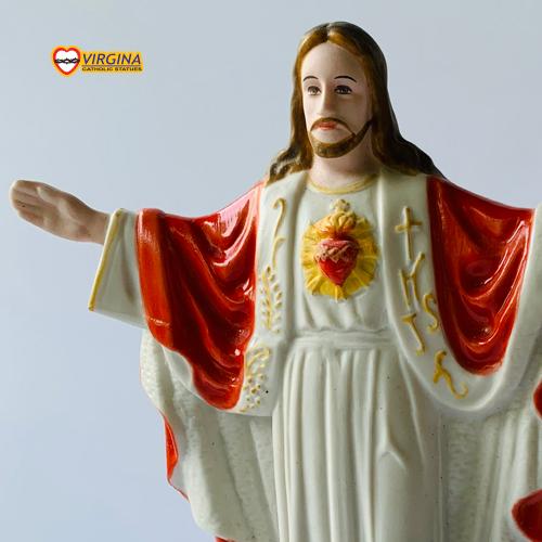 Tượng sứ - Chúa Kito Vua 15cm