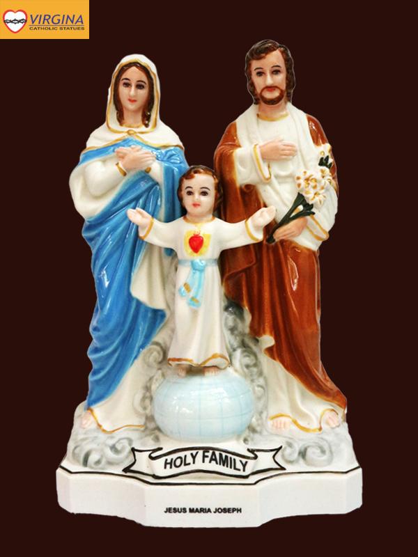 Tượng sứ Gia Đình Thánh Gia Thất 15cm