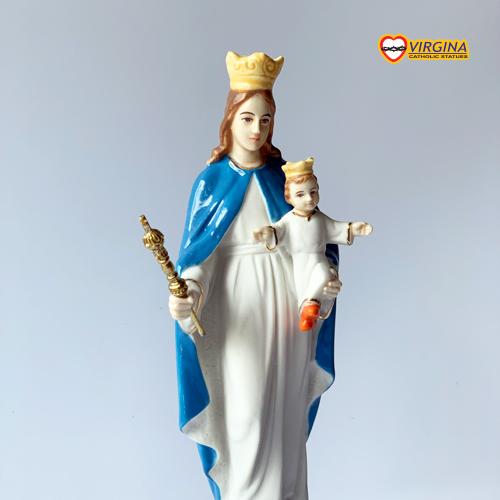 Tượng Sứ - Đức Mẹ Phù Hộ 17cm
