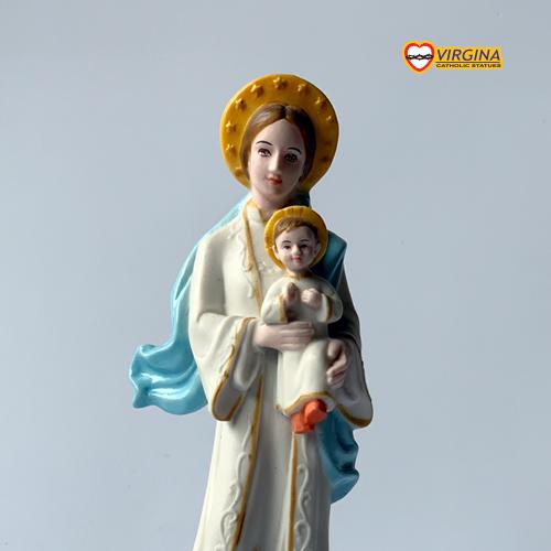 Tượng sứ - Mẹ Lavang Việt Nam 13cm