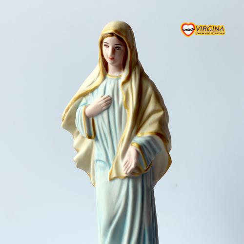 Tượng Sứ - Mẹ Mễ Du 17cm