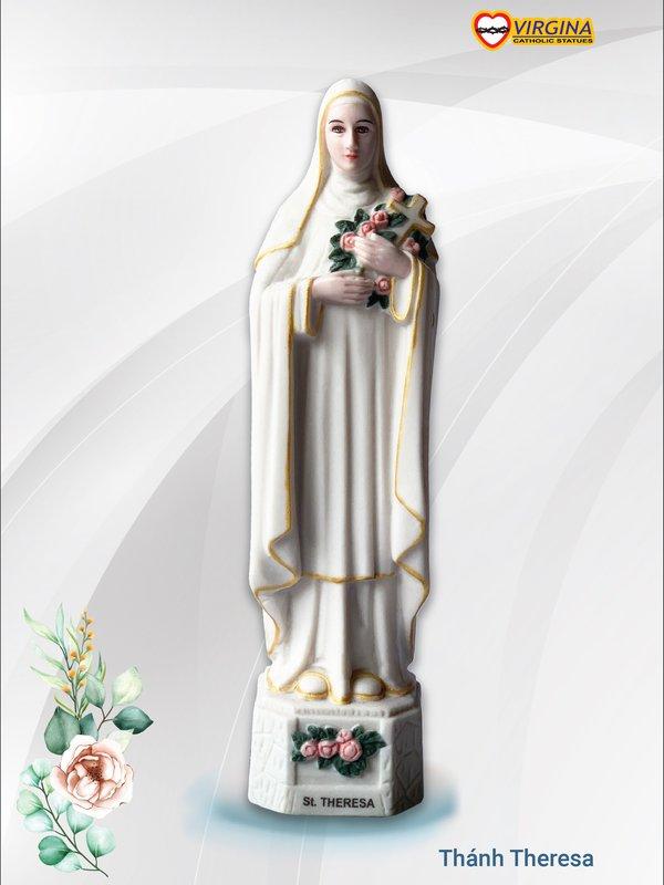 Tượng sứ-Thánh Teresa 13cm