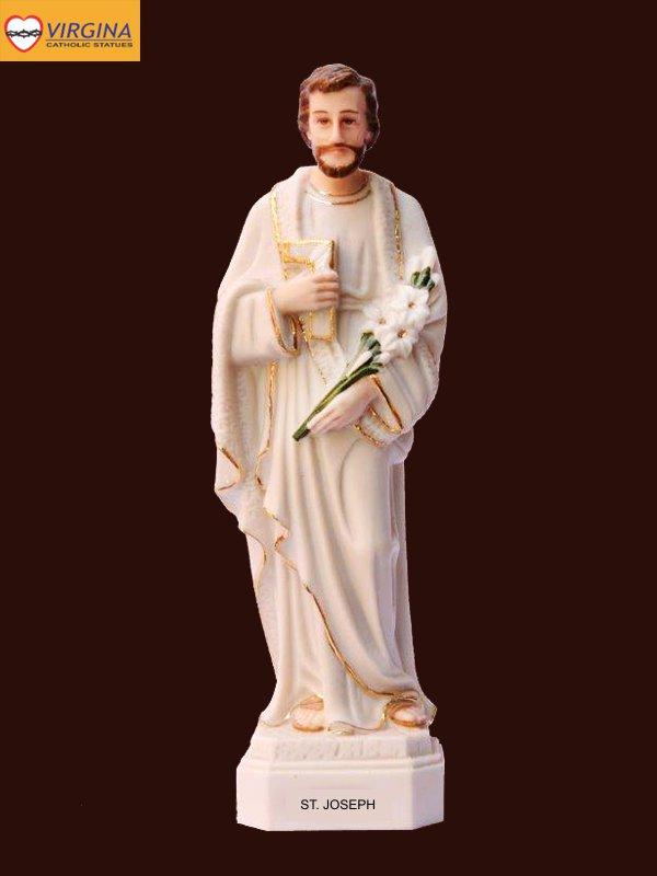 Tượng sứ - Thánh Giuse 17cm