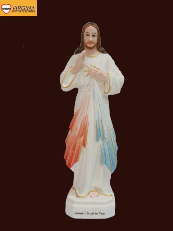 Tượng sứ - Chúa Thương Xót 17cm