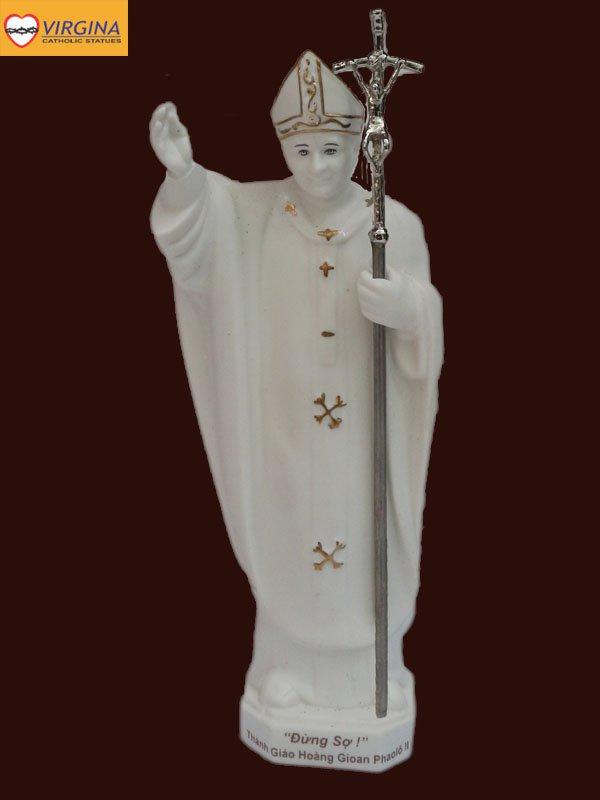Tượng Sứ - Đức Giáo Hoàng Phaolo II