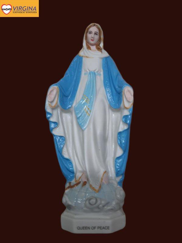 Tượng Sứ - Đức Mẹ Ban Ơn 17cm
