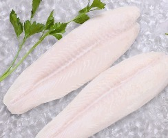 Frozen Pangasius Fillet, Well trimmed