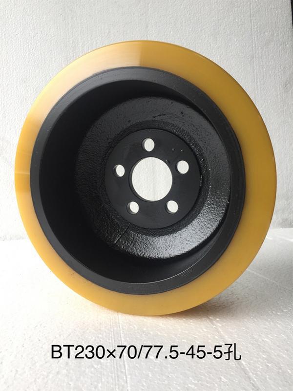 Bánh xe nâng điện con cóc   Bánh xe nâng pallet bằng điện