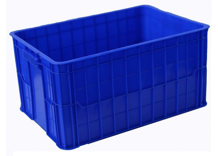 Sóng nhựa bít 610x420x390 | Thùng nhựa 610x420x390