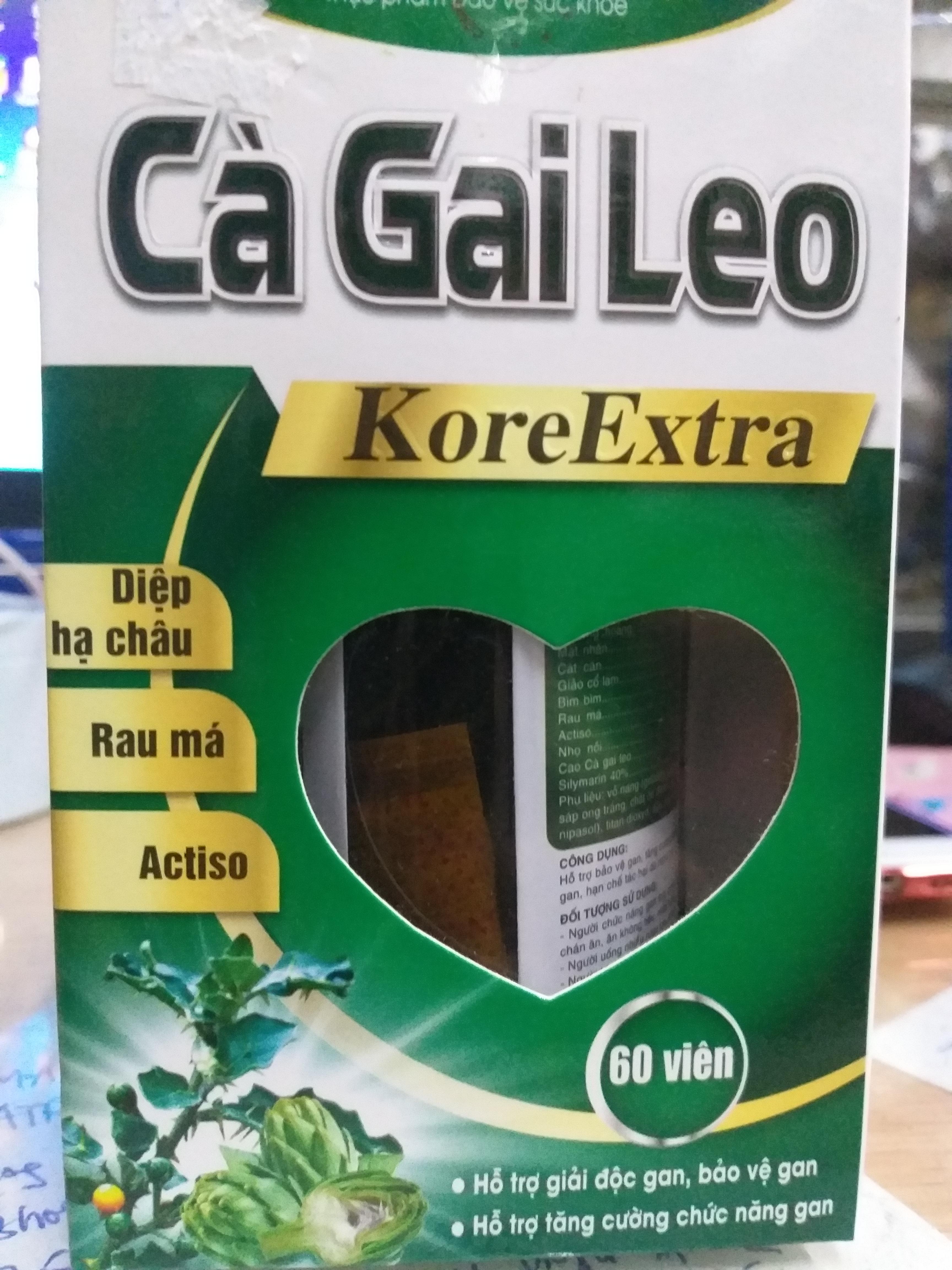 Cà gai leo Kore extra lọ 60 viên