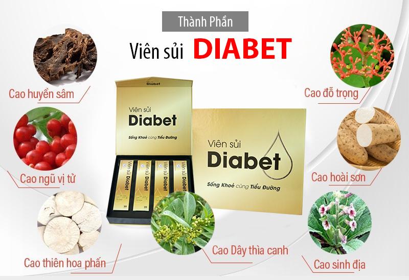 Viên sủi tiểu đường diabet