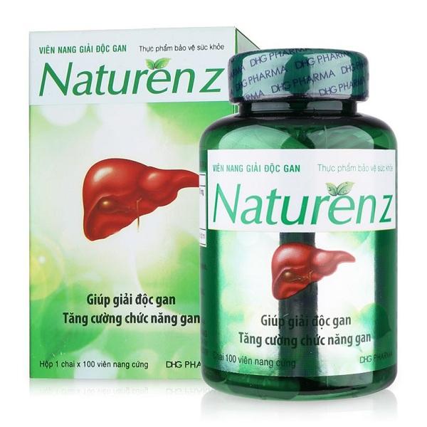 naturenz hỗ trợ giải độc phục hồi chức năng gan