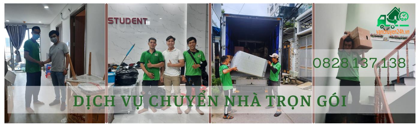 Dịch Vụ Chuyển Nhà Trọn Gói 24h.