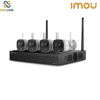 Bộ Kit Camera Wifi 2MP (1 đầu ghi + 4 camera) DAHUA IMOU Wireless Security System KIT/NVR1104HS-W-S2/4-G26E