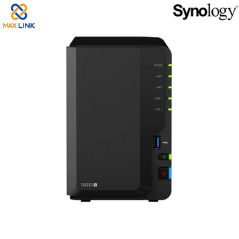 Thiết bị lưu trữ mạng NAS Synology DS220+