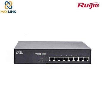 Thiết bị mạng bộ chuyển mạch Unmanaged switch 8 cổng 10/100/1000 BASE-TRuijie RG-S1808G
