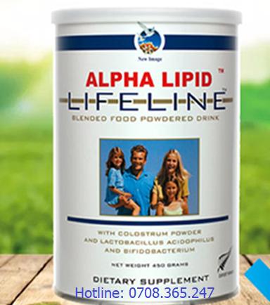 Sữa Non Alpha Lipid nhập khẩu từ New Zealand