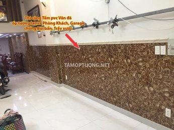 Vật liệu ốp tường chống ẩm, trang trí Nhà cửa - Tấm nhựa pvc vân đá