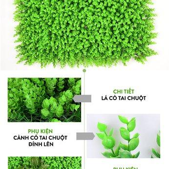 Vách cỏ nhựa trang trí 2