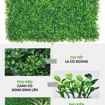 Vách cỏ nhựa trang trí 46