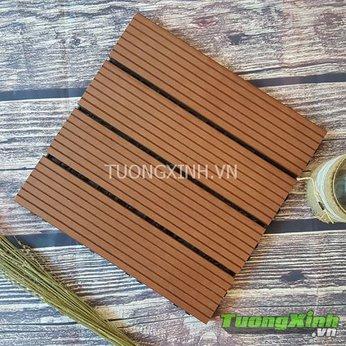 Vỉ gỗ lót sàn Gỗ nhựa Composite TX 01