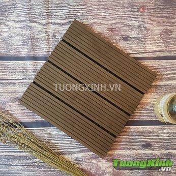Vỉ gỗ lót sàn Gỗ nhựa Composite TX 02