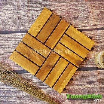 Vỉ gỗ lót sàn Gỗ tự nhiên TX 02