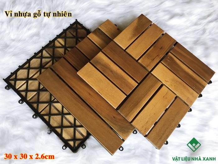 Vỉ gỗ lót sàn Gỗ tự nhiên TX 01