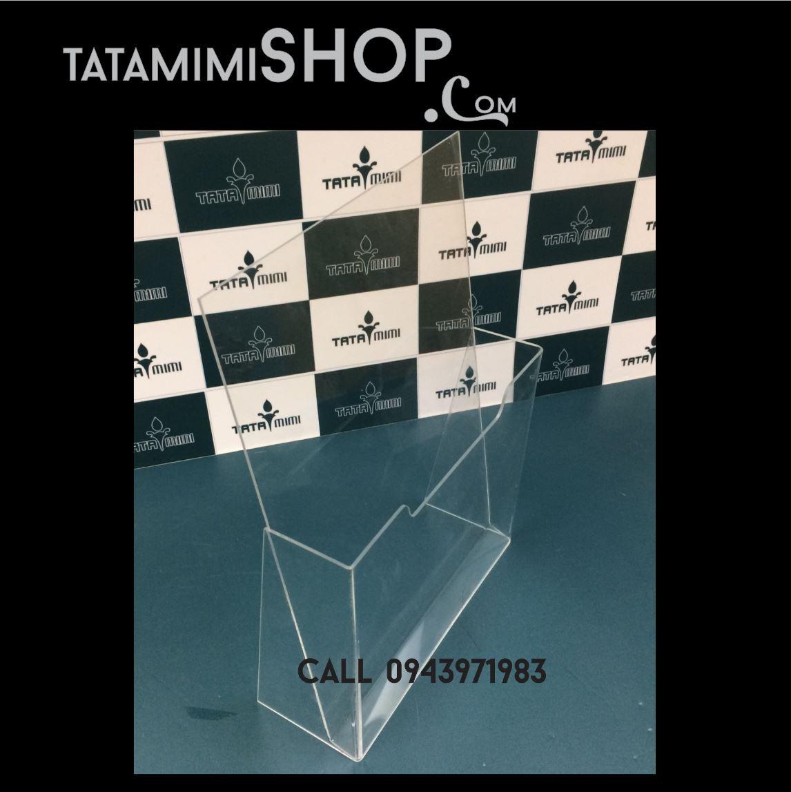 Hộp Mica để tờ rơi A5-1 ngăn | TATAMIMISHOP.COM ❤️❤️❤️