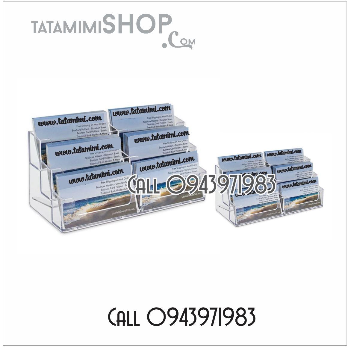 Kệ mica để cardvisit 6 ngăn để bàn | TATAMIMISHOP.COM ❤️❤️❤️