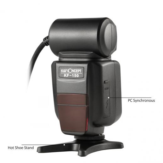 Đèn flash chụp Macro K&F Concept KF-150 TTL for Canon
