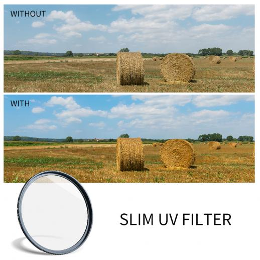 K&F MC UV filter - kính lọc K&F MC UV 43mm