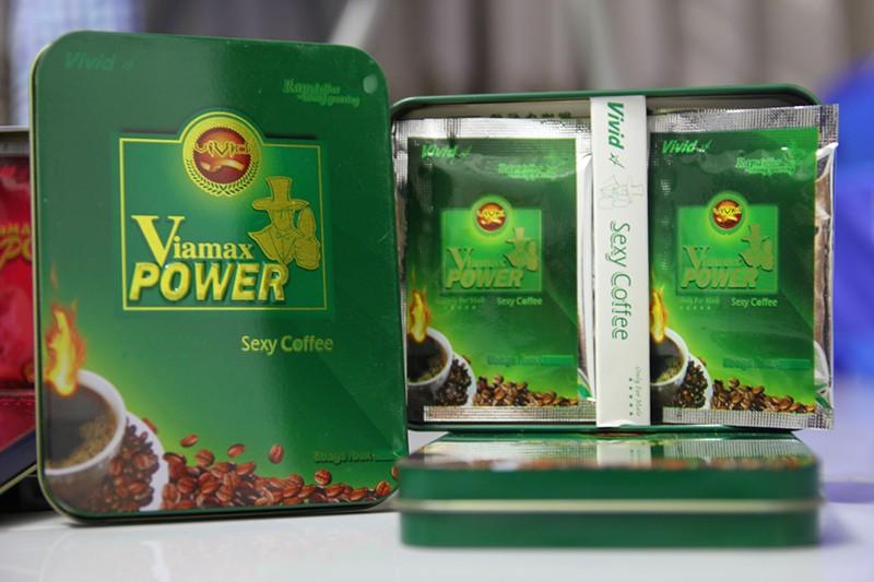 Cà phê Viamax Power Sexy / Kẹo Hamer Ginseng Coffee