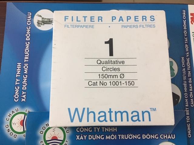 1001-150 Giấy Lọc Whatman Số 1 Đk 150mm