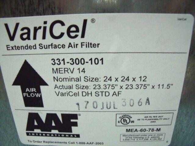 Khung lọc khí AAF Varicel