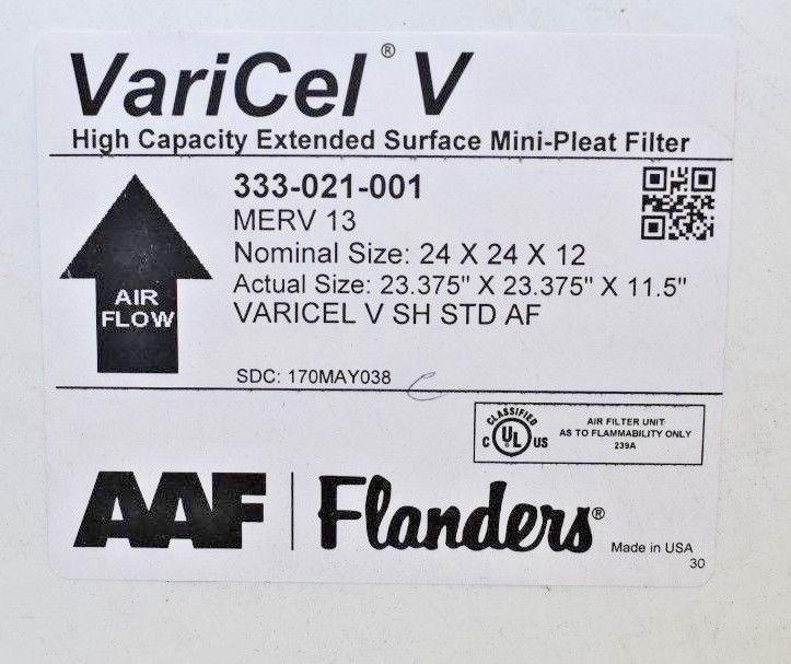 Khung lọc khí AAF Varicel V