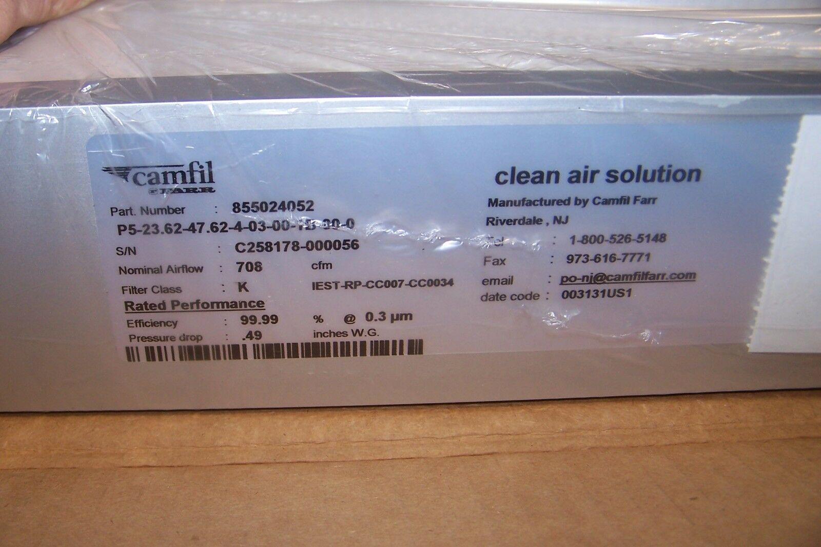 Hộp lọc Simline của Camfil cho phòng sạch