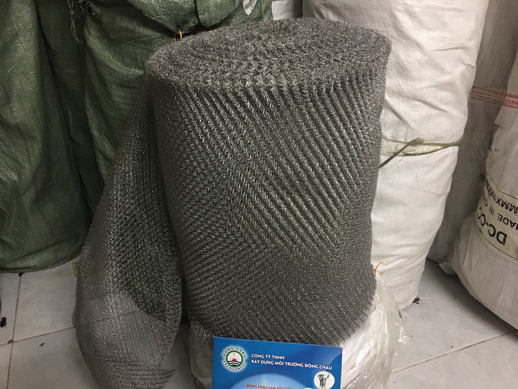 Lưới bùi nhùi inox ss304 lọc dầu lọc khí