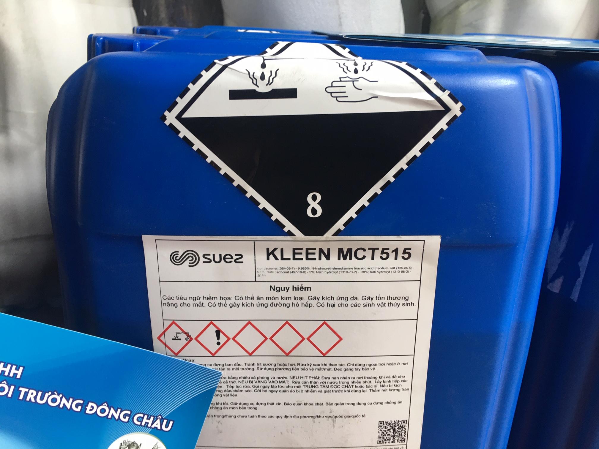 Hóa chất tẩy rửa chất hữu cơ màng RO Suez MC515