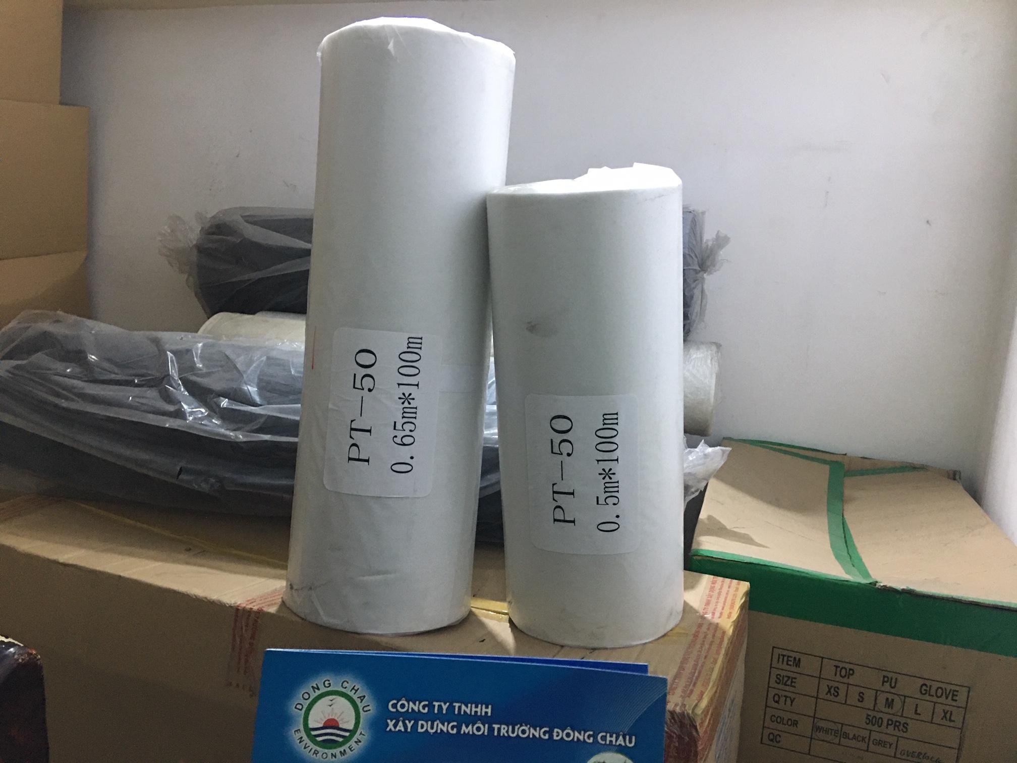 Giấy Lọc Cuộn Công Nghiệp Polypropylen MGPT 0.65x100m
