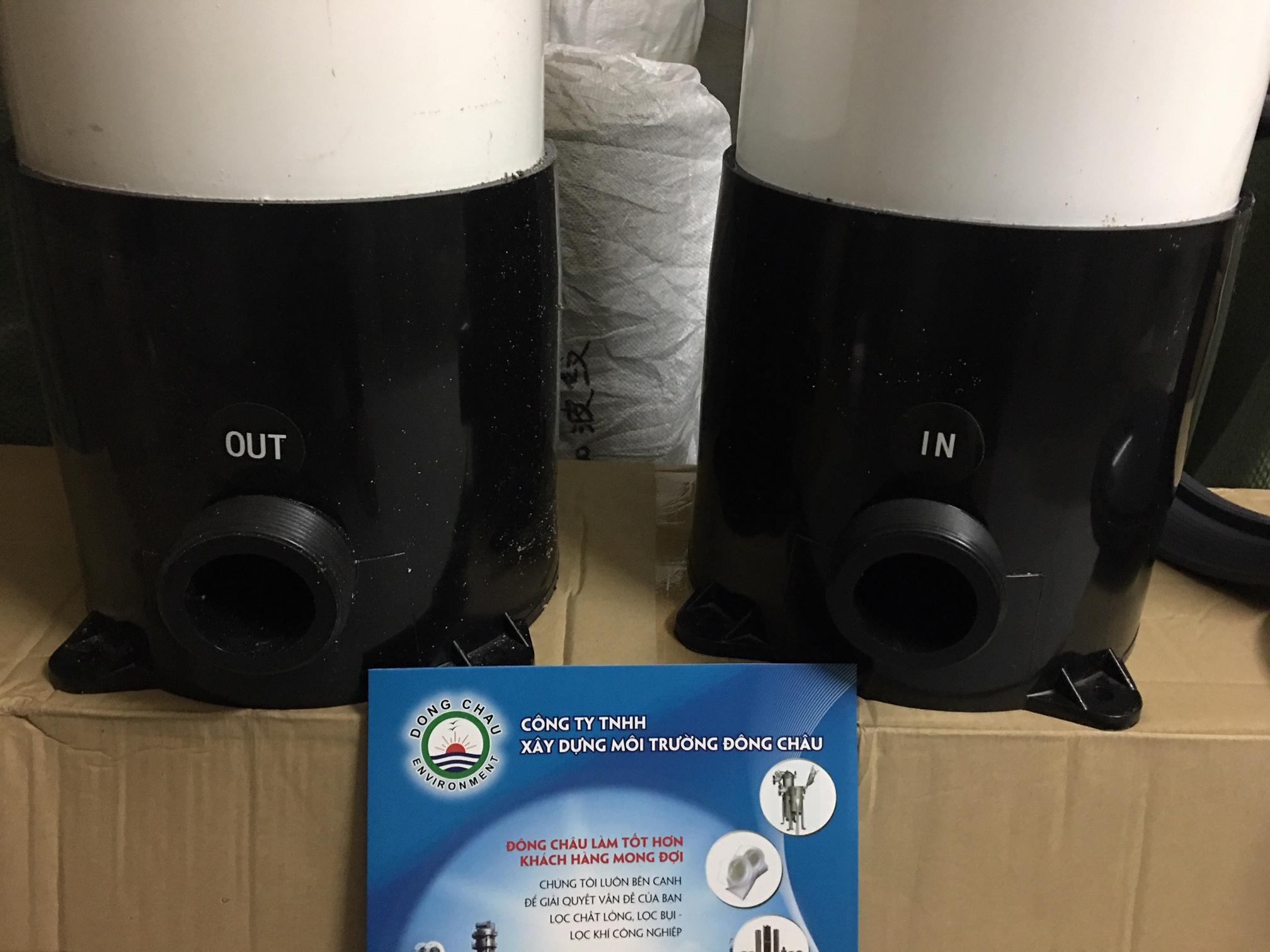 Bình nhựa lọc nước công nghiệp uPVC 5 lõi 20 inch