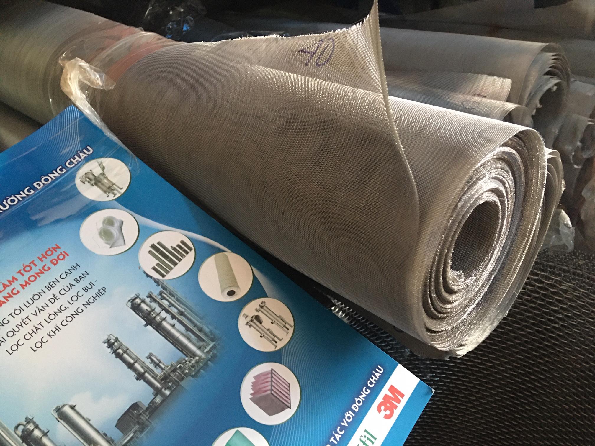 Lưới lọc inox 304 loại 40 mesh