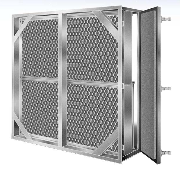 Khung Metal mesh AAF