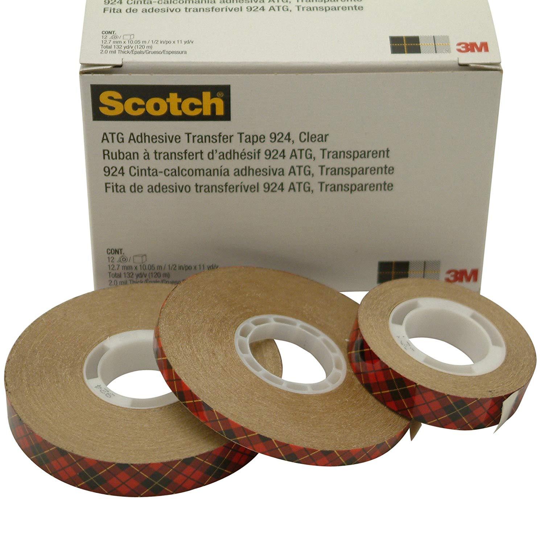 Băng keo 2 mặt độ dính cao 3M scotch 924