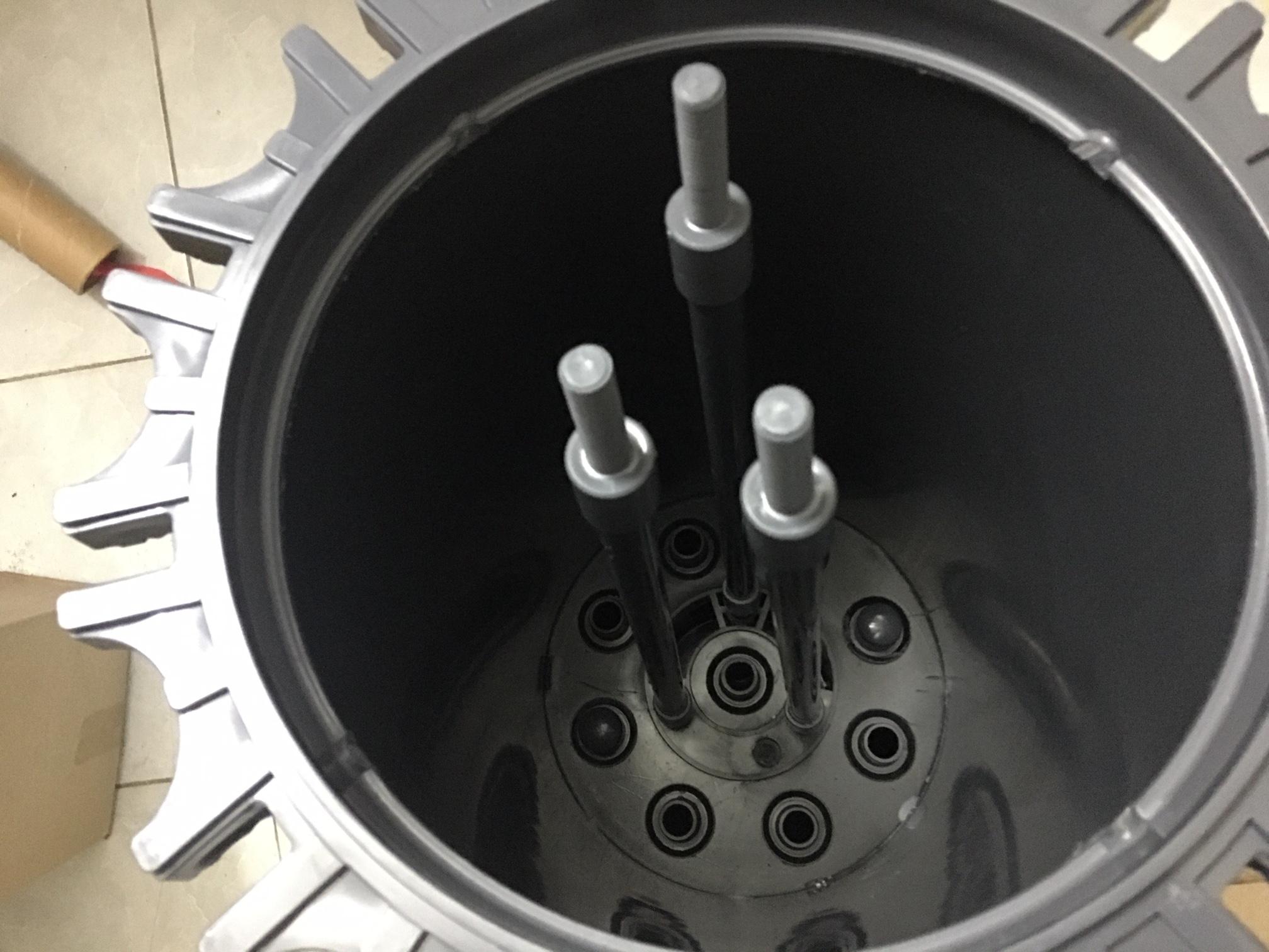 Bình nhựa lọc lõi uPVC 9 lõi 20 inch