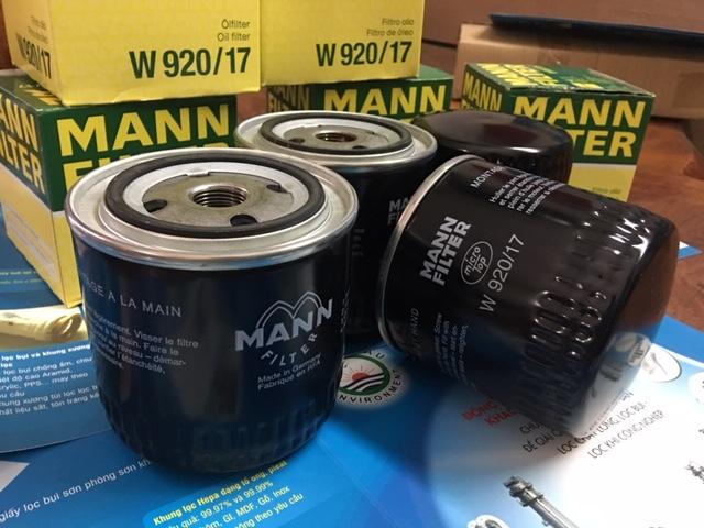 Bộ Lọc Dầu Nhớt Mann W920/17