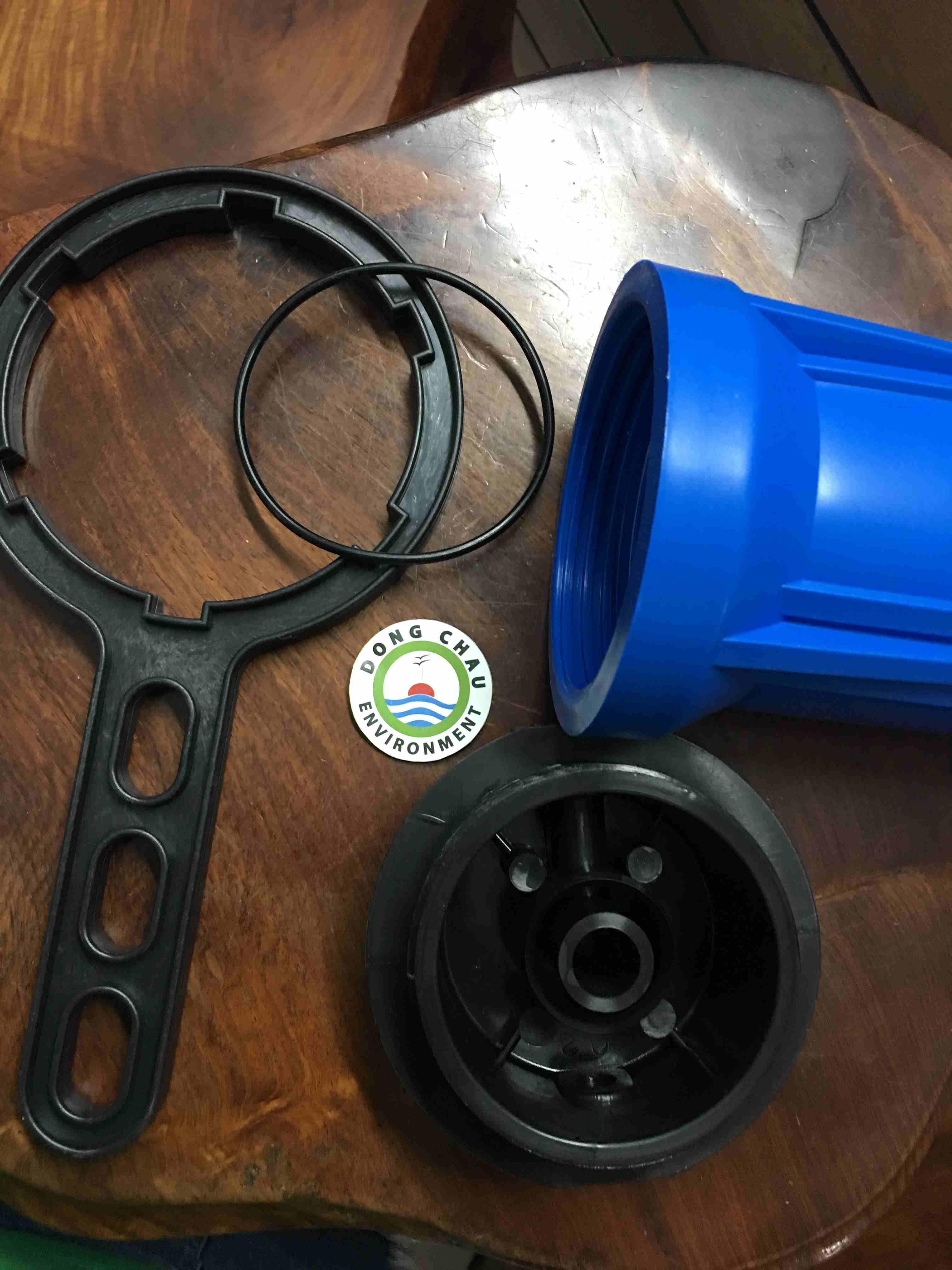 Cốc Lọc Nhựa Xanh 10 Inch