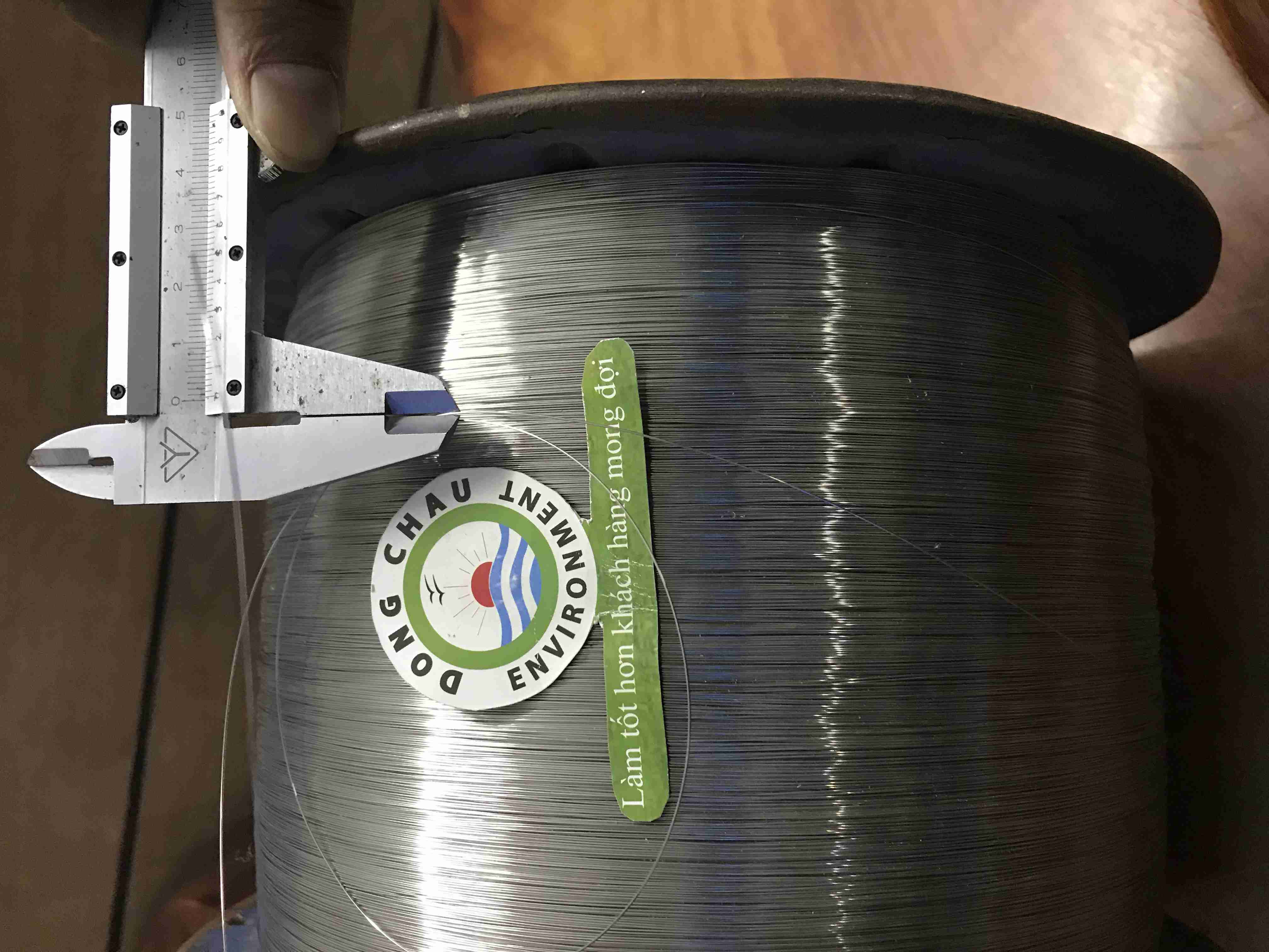 Cuộn sợi inox 0.5 mm