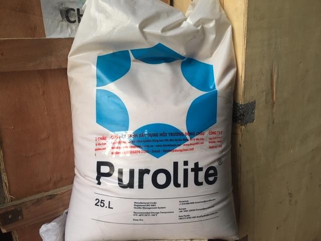 Hạt Nhựa Trao Đổi Ion C100E Purolite