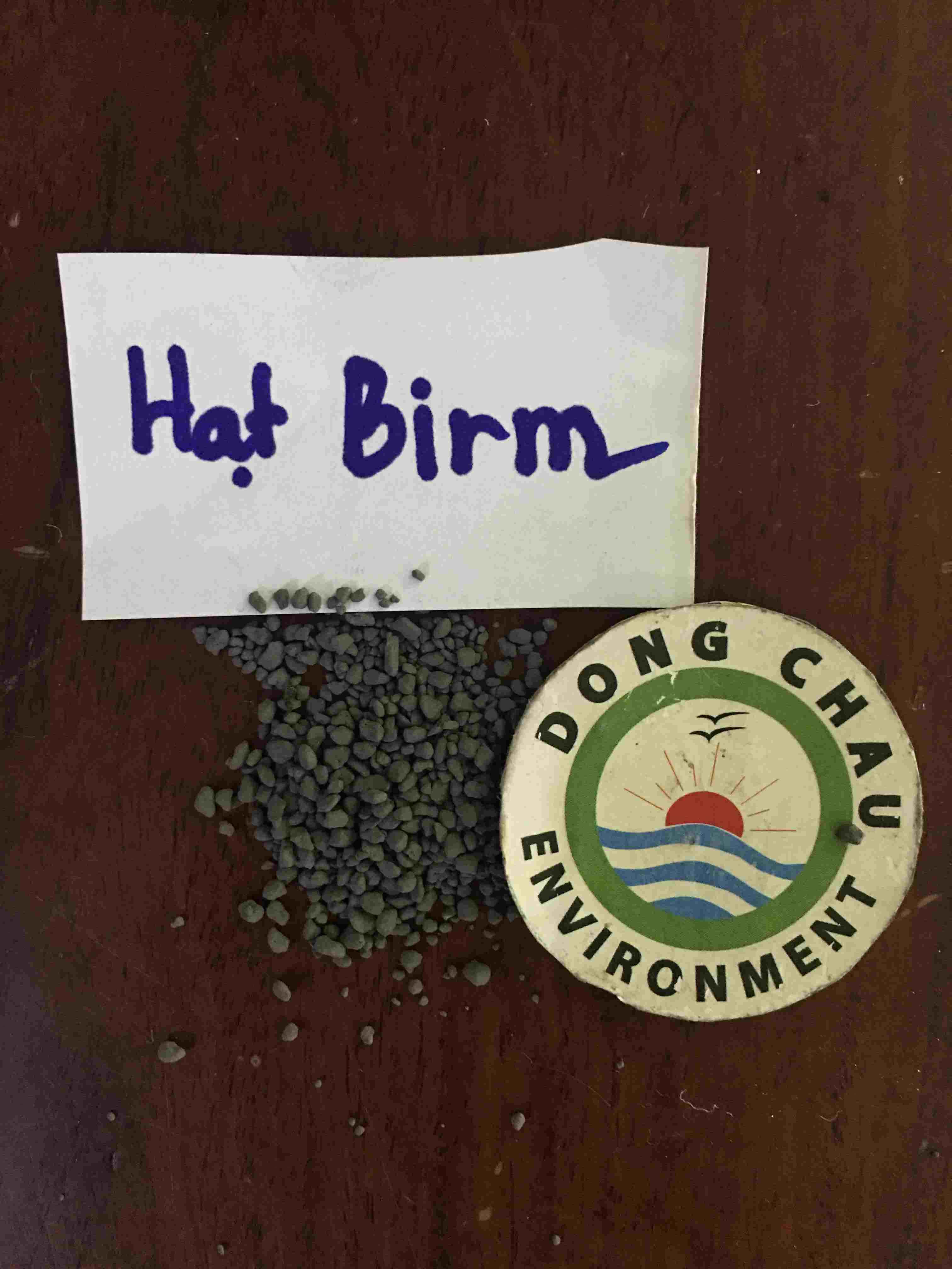 Hạt Birm xử lý nước